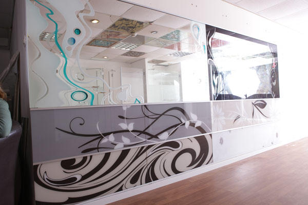 מראות זכוכית בעיצוב אישי