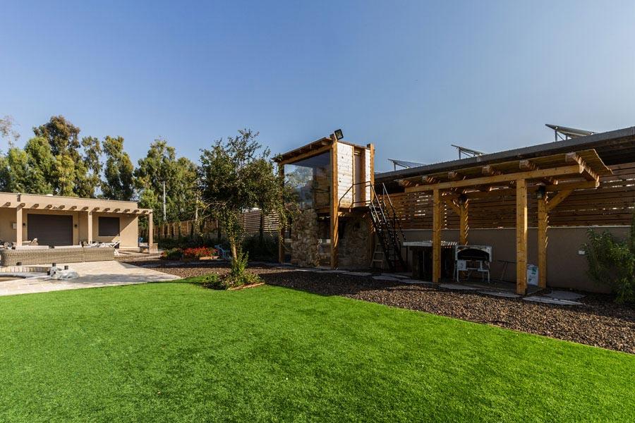 פרויקט זכוכית לגינה