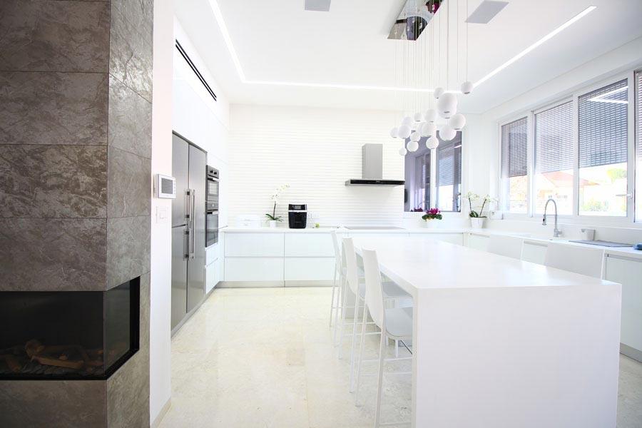 פרויקט זכוכית למטבח