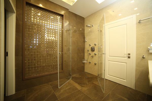 פרויקט מקלחת זכוכית
